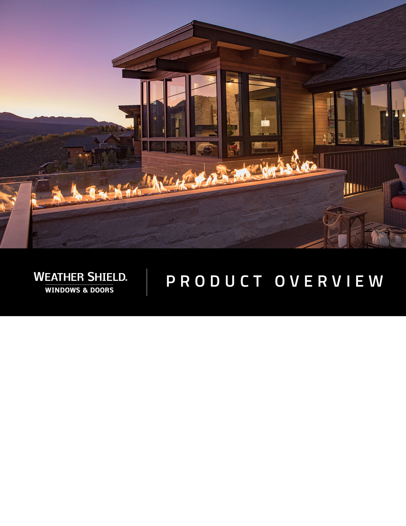 View Weather Shield Overview Brochure