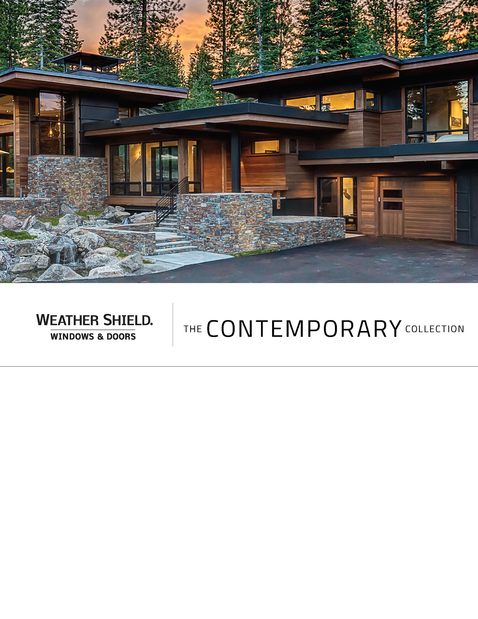 View Weather Shield Contemporary Collection™ Catalog