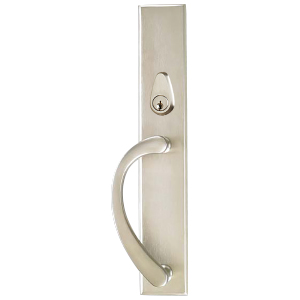 Ashland French Sliding Patio Door Three-Point Locking System Square Back Plate